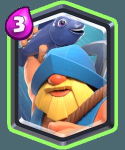 Fisherman Legendary Clash Royale Card